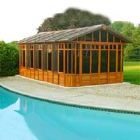 Brand New Cottage Hot Tub Enclosure Gazebo - 12' x 22'