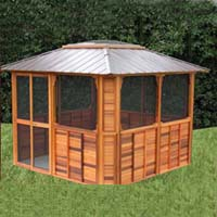 Brand New Anubis Hot Tub Enclosure Gazebo - 10' x 10'