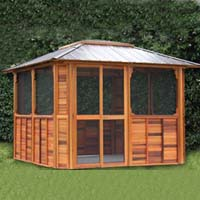 Brand New Anubis Hot Tub Enclosure Gazebo - 10' x 12'