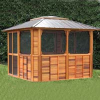 Brand New Anubis Hot Tub Enclosure Gazebo - 12' x 12'