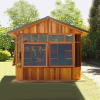 Brand New Wiltshire Hot Tub Enclosure Gazebo - 10' x 10'
