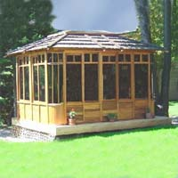 Supreme Zen Hot Tub Gazebo - 10' x 12'