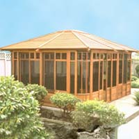 Supreme Zen Hot Tub Enclosure Gazebo - 12' x 16'