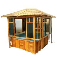 Supreme Antero Hot Tub Gazebo - 8' x 8'