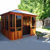 Brand New Forest View Hot Tub Enclosure Gazebo - 12' x 12'