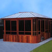 Brand New Forest View Hot Tub Enclosure Gazebo - 12' x 14'