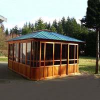 Brand New Forest View Hot Tub Enclosure Gazebo - 12' x 16'