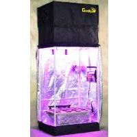 Turn-Key Indoor Grow Tent 2.5' wide x 2' deep & Adjustable up to 8' tall