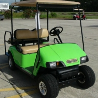 EZGO Golf Cart Electric Pds W/speed Chip & Rear Seat Kit