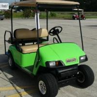 EZGO Golf Cart Electric Pds W/speed Chip & Rear Seat Kit