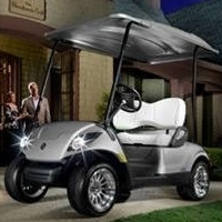 Yamaha Gas Golf Cart w/ Brand New Body