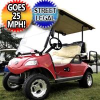 EVO 4 Seater LSV Golf Cart Street Legal