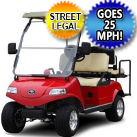 EVO 4 Seater LSV Golf Cart Street Legal