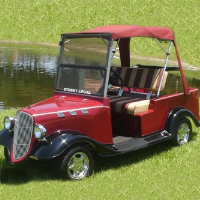 '34 Old Car Custom Club Car Golf Cart