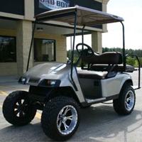 36v Pewter EZ-GO Electric Golf Cart