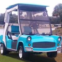 '56 Old Car Custom Club Car Golf Cart