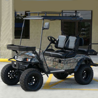 EZ-GO 48v Monster Custom Electric Hunting Golf Cart