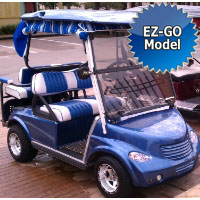 PT Cruiser Custom EzGo Golf Cart