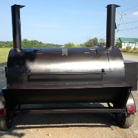 Brand New 11 Foot BBQ Smoker Trailer