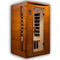 1-2 Person Dynamic Low EMF Far Infrared Sauna, Versailles Edition - DYN-6202-03
