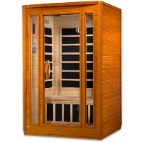 1-2 Person Dynamic Low EMF Far Infrared Sauna, San Marino Edition - DYN-6206-01