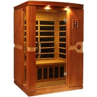 1-2 Person Dynamic Low EMF Far Infrared Sauna, Venice Edition