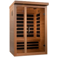 2 Person Dynamic Low EMF Far Infrared Sauna - Amodora Edition - DYN-6215-02