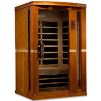 1-2 Person Dynamic Low EMF Far Infrared Sauna, Vittoria Edition - DYN-6220-01