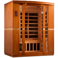 2-3 Person Dynamic Low EMF Far Infrared Sauna, Bellagio Edition - DYN-6306-01