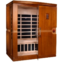 3 Person Dynamic Far Infrared Sauna Madrid Edition with Carbon Heating - DYN-6310-01
