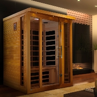 3 Person Dynamic Goldeneye Sauna with Carbon Heating