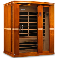 2-3 Person Dynamic Low EMF Far Infrared Sauna, Palermo Edition - DYN-6330-01