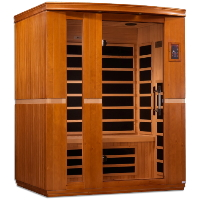 2-3 Person Dynamic Low EMF Far Infrared Sauna, Lugano Edition - DYN-6336-01