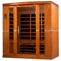 3-4 Person Dynamic Low EMF Far Infrared Sauna, Bergamo Edition - DYN-6440-01