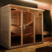 6 Person Dynamic Desert Storm Sauna with Carbon Heating