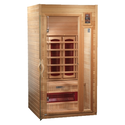 1 2 person dynamic stork sauna with ceramic heating. Black Bedroom Furniture Sets. Home Design Ideas