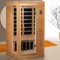 1-2 Person Jacana Far Infrared Sauna w/6 Carbon Heating Panels