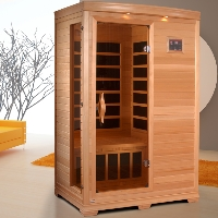 1-2 Person Coluber Sauna with Carbon Heating