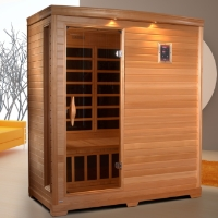 3 Person Baleen Sauna with Carbon Heating