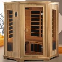 3 Person 1900 Watt Color Therapy - Carbon Tech Infrared Sauna