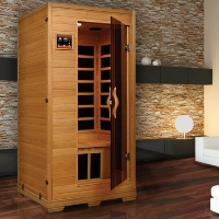 Studio Classic Color Therapy 1 - 2 Person Sauna with Carbon Heaters