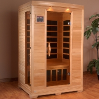 2 Person Infrared Sauna with Carbon Heaters