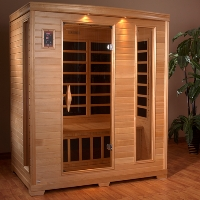 2-3 Person Far Infrared Sauna with 9 Carbon Tech Heaters