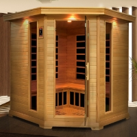 4-5 Person Apella Infrared Sauna with Carbon Heaters