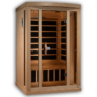 1-2 Person Near Zero EMF FAR Infrared Sauna - GDI-8020-01