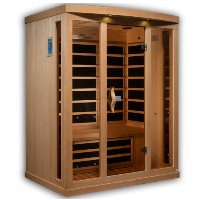 2-3 Person Near Zero EMF FAR Infrared Sauna - GDI-8030-01