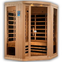 3-4 Person Near Zero EMF FAR Infrared Sauna - GDI-8035-01