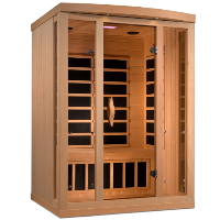 2-3 Person Near Zero EMF FAR Infrared Sauna - GDI-8530-01