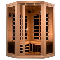 2-3 Person Near Zero EMF FAR Infrared Sauna - GDI-8535-01