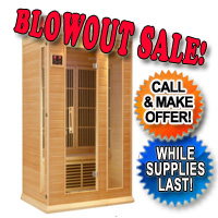 Brand New Maxxus Luxury 2 Person Infrared Sauna